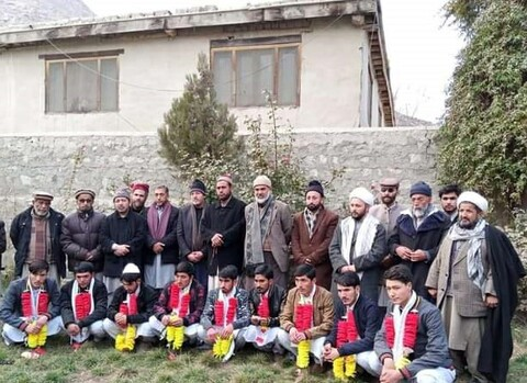 جامعۃ الحسین مہدی آباد سے فارغ التحصیل طلاب کے اعزاز میں تقریب +تصاویر
