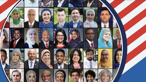 گزارش جدید: افزایش حضور مسلمانان آمریکا در دنیای سیاست