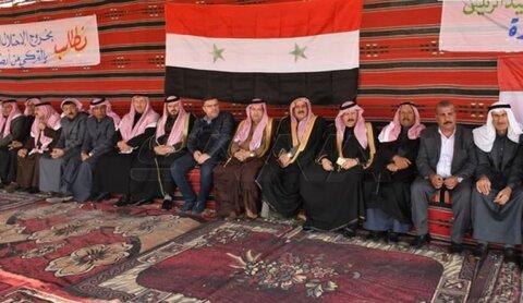 العشائر السورية تؤكد رفض الاحتلالين التركي والامريكي ودعم الرئيس الاسد