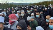 رژیم صهیونیستی ورودی جولان اشغالی سوریه را بست + تصاویر