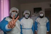 تصاویر/ کمک رسانی طلاب جهادی کردستان در بیمارستان توحید سنندج