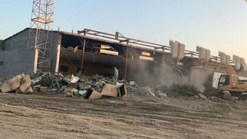 آلسعود مسجد امام حسین(ع) در منطقه العوامیه را تخریب کرد