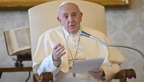 پاپ فرانسیس رهبر مسیحیان جهان