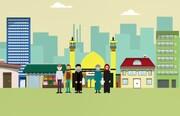 موشن گرافیک   محلهای با سبک زندگی اسلامی