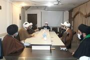 تصاویر/ نشست کمیته همکاری حوزه و دانشگاه در حوزه علمیه کردستان