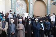 تجمع اعتراضی مردم کرمانشاه در واکنش به ماجرای «تکیه معاون الملک»