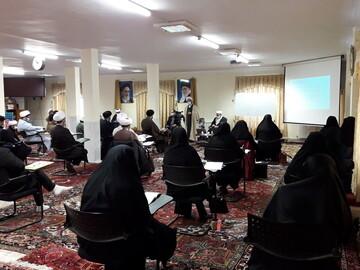 تصاویر/ بازدید رئیس بیمارستان امام رضا(ع) تبریز از دوره تخصصی مشاوره بالینی طلاب جهادی