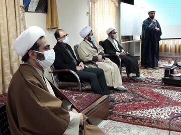 رئیس بیمارستان امام رضا(ع) تبریز از دوره مشاوره بالینی طلاب جهادی بازدید کرد