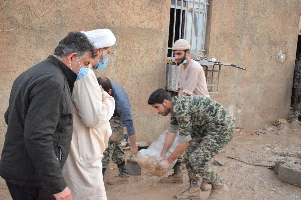 بازدید مدیرکل تبلیغات اسلامی بوشهر از مناطق سیلزده شهرستان دشتستان