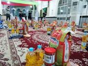 توزیع سه مرحله کمکهای مؤمنانه درشهرستان شوش