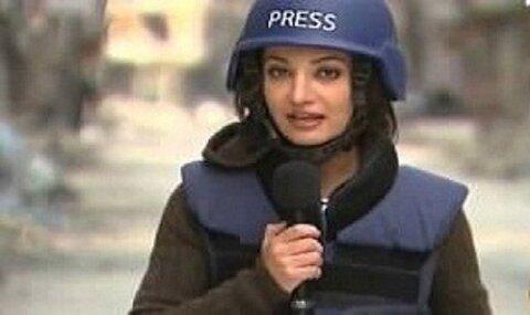 """""""غاده غویس"""" خبرنگار لبنانی در شبکه الجزیره"""