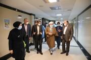 تصاویر/ بازدید نماینده ولی فقیه در کاشان از بیمارستان شهید بهشتی