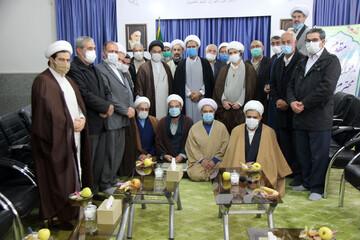 تصاویر/ دیدار جمعی از روحانیون خراسان شمالی با نماینده جدید ولی فقیه دراستان