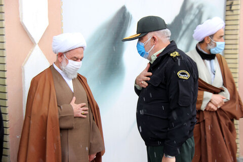 تصاویر/ آئین بدرقه نماینده سابق ولی فقیه در خراسان شمالی
