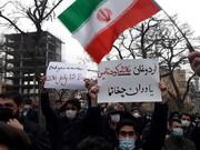 تصاویر / تجمع اعتراضی مردم تبریز در واکنش به اظهارات اردوغان