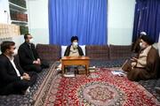 تصاویر/ دیدار اعضای انجمن تبلیغ و ارتباطات حوزه علمیه قم با حضرت آیت الله علوی گرگانی