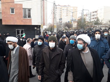 تجمع اعتراضی مردم تبریز در مقابل کنسولگری ترکیه