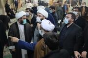 بازدید رئیس سازمان تبلیغات از قرارگاه مردمی سلامت منطقه ۲۱ تهران + عکس
