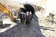 انتقاد امام جمعه شهرکرد از کندی احداث تونل گردنه چری