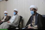 دیدار مسئولین بسیج طلاب خوزستان با آیتالله جزایری+عکس