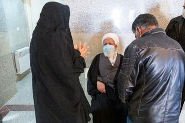 آیت الله ناصری یزدی: مردم فیروزآباد نگران جبران خسارتهای سیل نباشند
