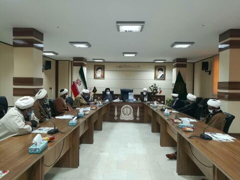 جلسه کار گروه حوزه و روحانیت ورامین