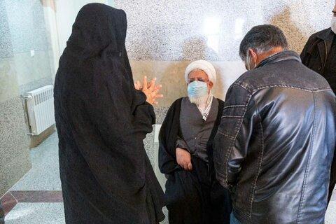 امام جمعه یزد در مناطق سیل زده ابرکوه
