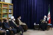 تصاویر/ دیدار نمایندگان دفاتر مراجع با آیت الله اعرافی