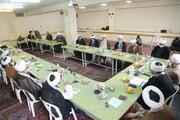 تصاویر / نشست معاونان پژوهش مدارس علمیه قم در مدرسه علمیه شهیدین
