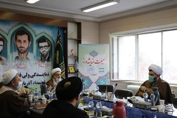 تصاویر/ هم اندیشی جمعی از روحانیون ارومیه با موضوع مطالبه گری