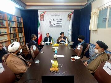 تصاویر/ وبینار علمی بایستههای پژوهشی حضرت ابوطالب (ع) در خبرگزاری حوزه
