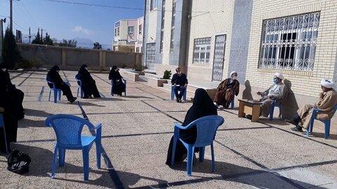 سفر استانی مدیر حوزه علمیه خواهران یزد به خاتم