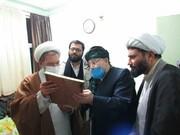 تصاویر/ دیدار مسئول دفتر سیاسی اجتماعی حوزههای علمیه با ماموستا حسامی