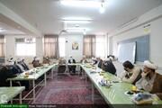 بالصور/ اجتماع مديري الأقسام البحثية لمدارس حوزة قم العلمية