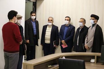 تصاویر/ بازدید رئیس دانشگاه شهاب دانش قم از مرکز تحقیقات کامپیوتری علوم اسلامی