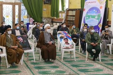 بازدید امام جمعه قزوین از قرارگاه جهادی حضرت زینب(س) به روایت تصویر