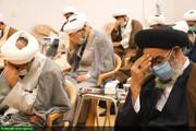 بالصور/ إقامة مجلس تأبين للمرحوم آية الله محمد اليزدي والشهيد فخري زادة في الحوزة العلمية بأصفهان