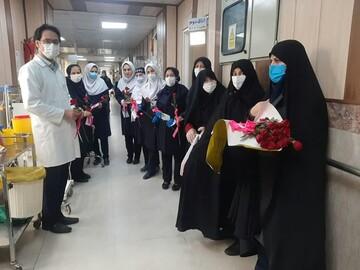 پرستاران قزوینی تقدیر شدند + عکس
