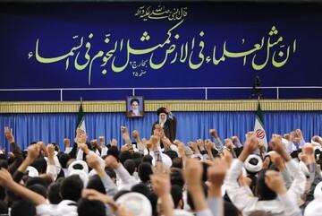 تجدید بیعت حوزههای علمیه با امام خامنهای رهبر معظم انقلاب اسلامی