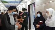 فیلم | تقدیر نماینده ولی فقیه در خوزستان از پرستاران