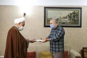 امام جمعه قزوین از خانواده شهدای سلامت تجلیل کرد