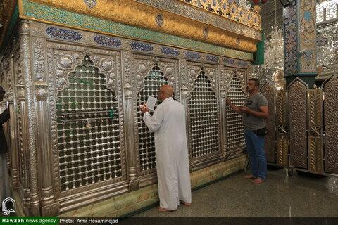 تقرير مصور خاص عن حرم السيدة زينب عليها السلام