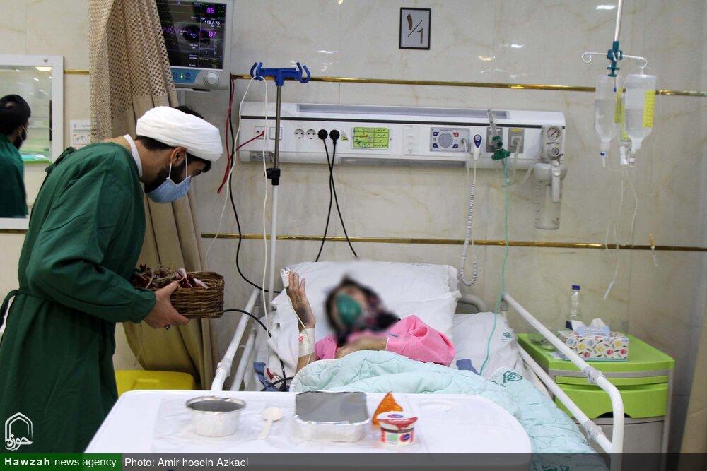 تصاویر / تقدیر حوزیان همدان از پرستاران خط مقدم سلامت