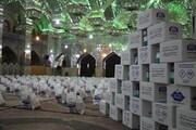 توزیع ۳۰۰۰ بسته معیشتی میان نیازمندان شیراز