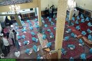 بالصور/ توزيع 160سلة غذائية بين العوائل المتعففة من قبل جمعية شباب الثورة الإسلامية في مدينة أرومية شمالي غرب إيران
