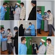 قدردانی رئیس دانشگاه علوم پزشکی قم از خدمات طلاب جهادی