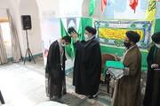 تصاویر/ مراسم عمامه گذاری طلاب یزدی به مناسبت میلاد حضرت زینب(س)