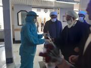 تصاویر/  بازدید امام جمعه کاشان از آسایشگاه سالمندان گلابچی
