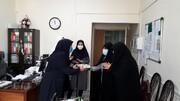 تصاویر/ تقدیر از پرستاران و مدافعان سلامت توسط مسئولین حوزه علمیه خواهران بناب