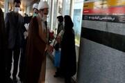 تصاویر/ تقدیر از پرستاران توسط حوزه علمیه کرمانشاه